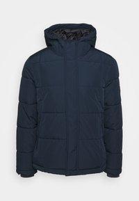 BASIC PUFFER - Winter jacket - dark blue