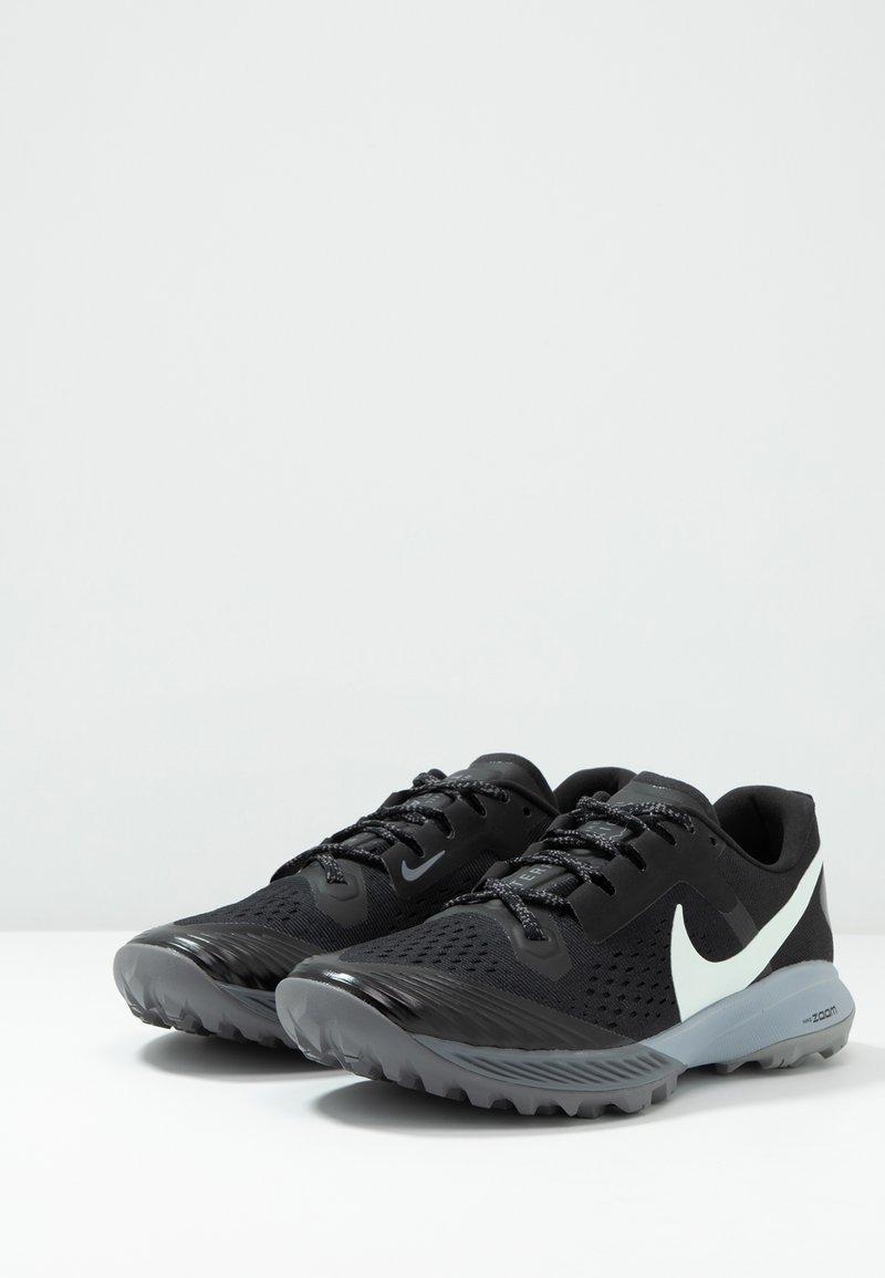 celebracion champán Elevado  Nike Performance AIR ZOOM TERRA KIGER 5 - Zapatillas de trail running -  black/barely grey/gunsmoke/wolf grey/negro - Zalando.es