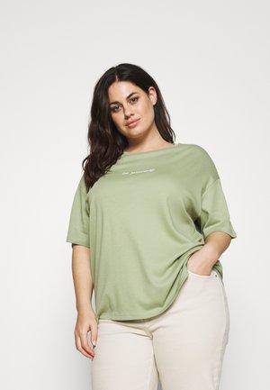 BE YOURSELF SHORT SLEEVE - T-shirt basic - green