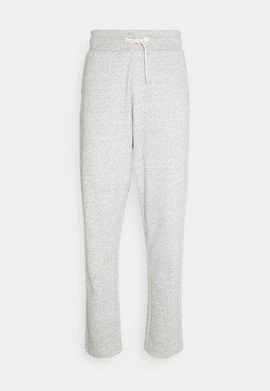 CLUB NOMADE SIGNATURE BASIC PANTS - Tracksuit bottoms - grey melange