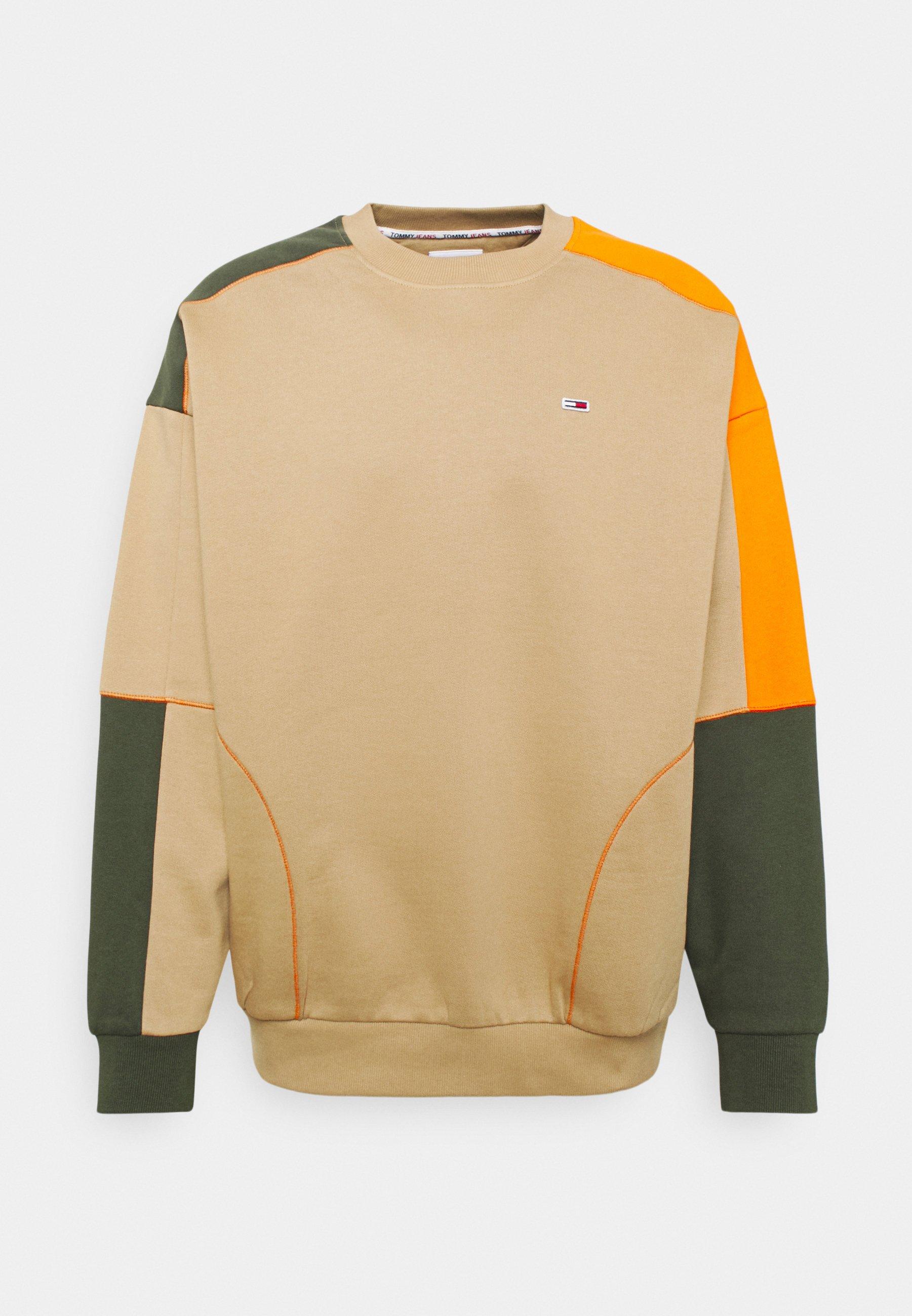 Men COLORBLOCK CREW - Sweatshirt