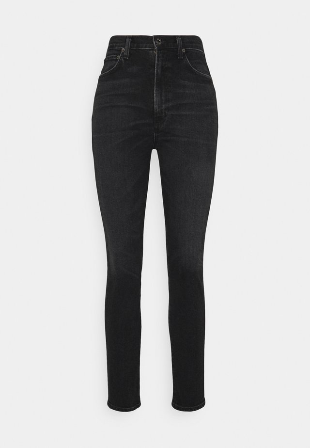 PINCH WAIST - Jeans slim fit - hotline/washed black