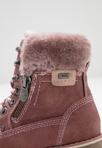 TOM TAILOR - Lace-up ankle boots - rose - 2