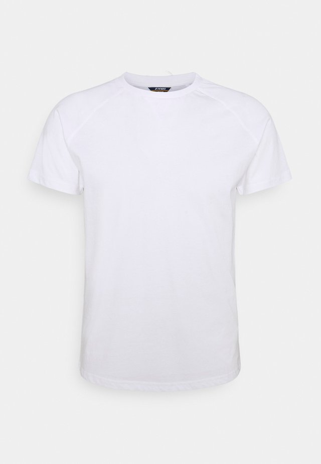 EDWING UNISEX - Basic T-shirt - white