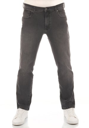 TEXAS STRETCH - Straight leg jeans - super grey