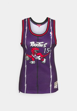 NBA TORONTO RAPTORS WOMENS SWINGMAN VINCE CARTER #15 - Klubové oblečení - purple