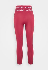 adidas Performance - AEROKNIT 7/8 T TRAINING WORKOUT DESIGNED4TRAINING PRIMEGREEN LEGGINGS FITTED - Tights - berry - 7