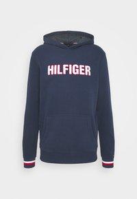 Tommy Hilfiger - OH HOODIE  - Pyjamasöverdel - blue - 5