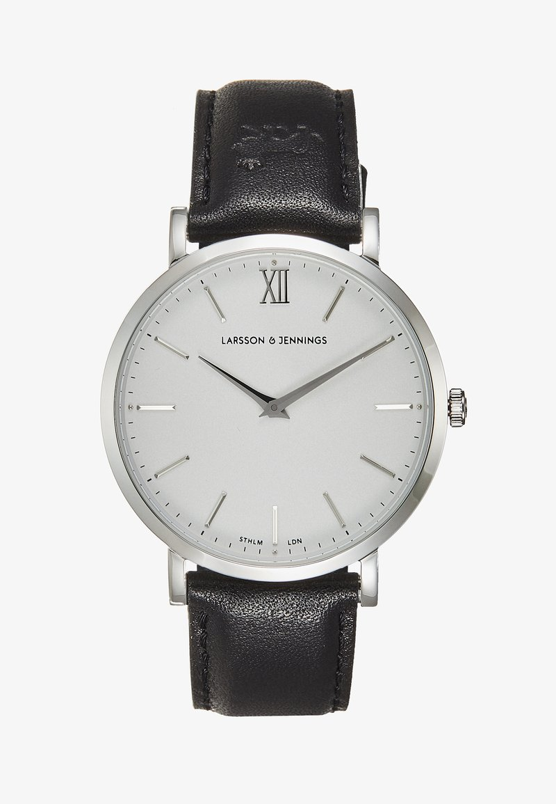 Larsson & Jennings - Orologio - black/silver-coloured/white