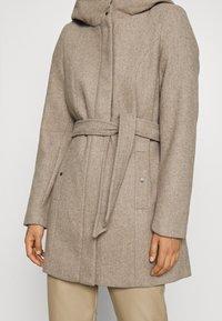 Vero Moda - VMCLASSLIVA JACKET - Krátký kabát - sepia tint melange - 5