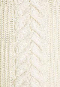 Missguided Tall - BARDOT CABLE CROP JUMPER - Pullover - cream - 2