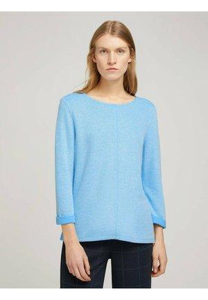 Sweatshirt - soft cloud blue melange