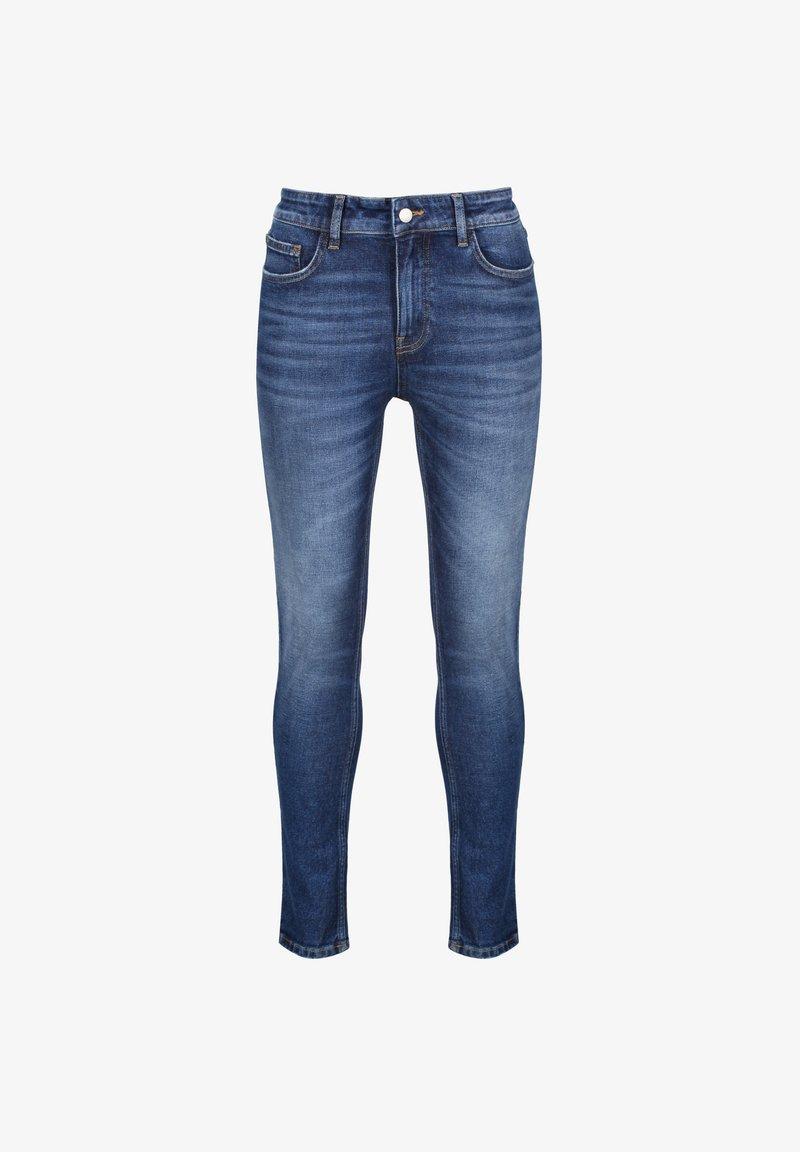 AÉROPOSTALE - Jeans Skinny Fit - darkbluedenim