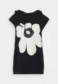 Marimekko - KIOSKI - Print T-shirt - black, white - 0