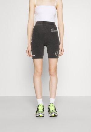 KALI CYCLING WASHED WOMEN - Shorts - black