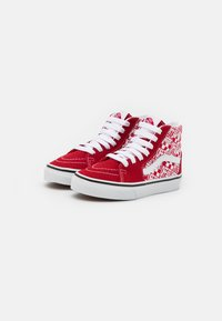 Vans - SK8 UNISEX - High-top trainers - chili pepper/racing red - 1