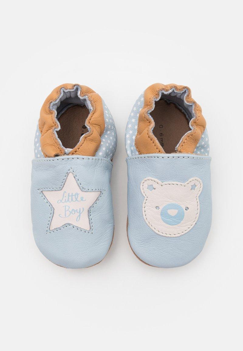 Robeez - DOUDOU FOREVER - First shoes - bleu clair