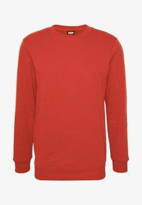 Urban Classics - BASIC CREW - Sweatshirt - burnedred - 4