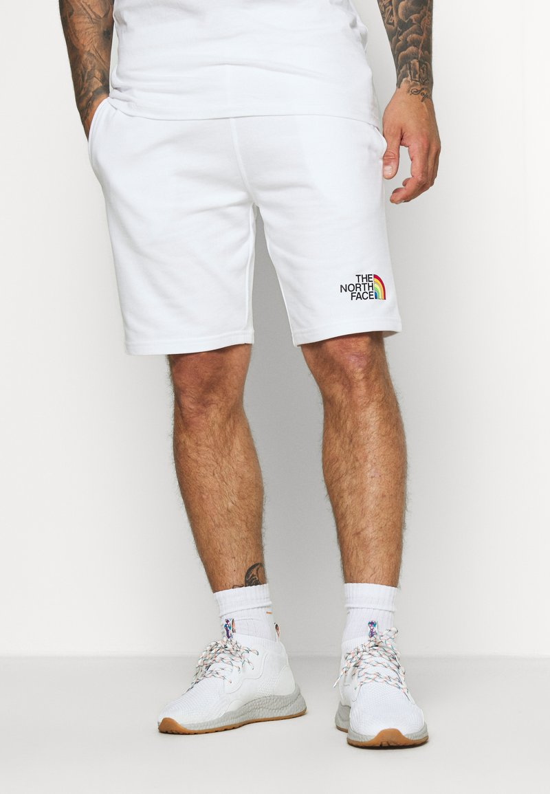 The North Face - RAINBOW SHORT - kurze Sporthose - white