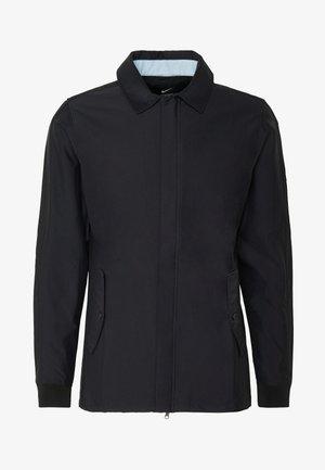 REPEL PLAYER - Vodotěsná bunda - black