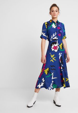 FLANDES - Maxi šaty - azul tinta
