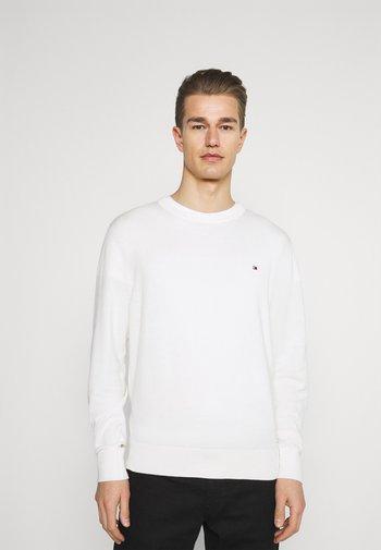 BLEND CREW NECK - Stickad tröja - ivory