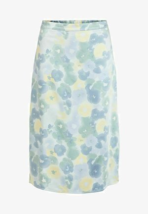 NOOS - A-line skirt - light blue