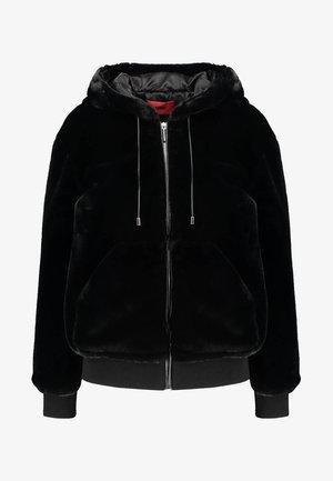 FIONAS - Lehká bunda - black