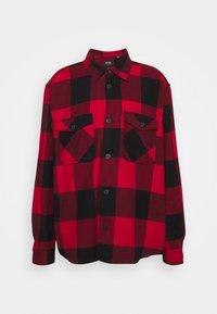 ONSMILO LIFE CHECK OVERSHIRT  - Shirt - fiery red