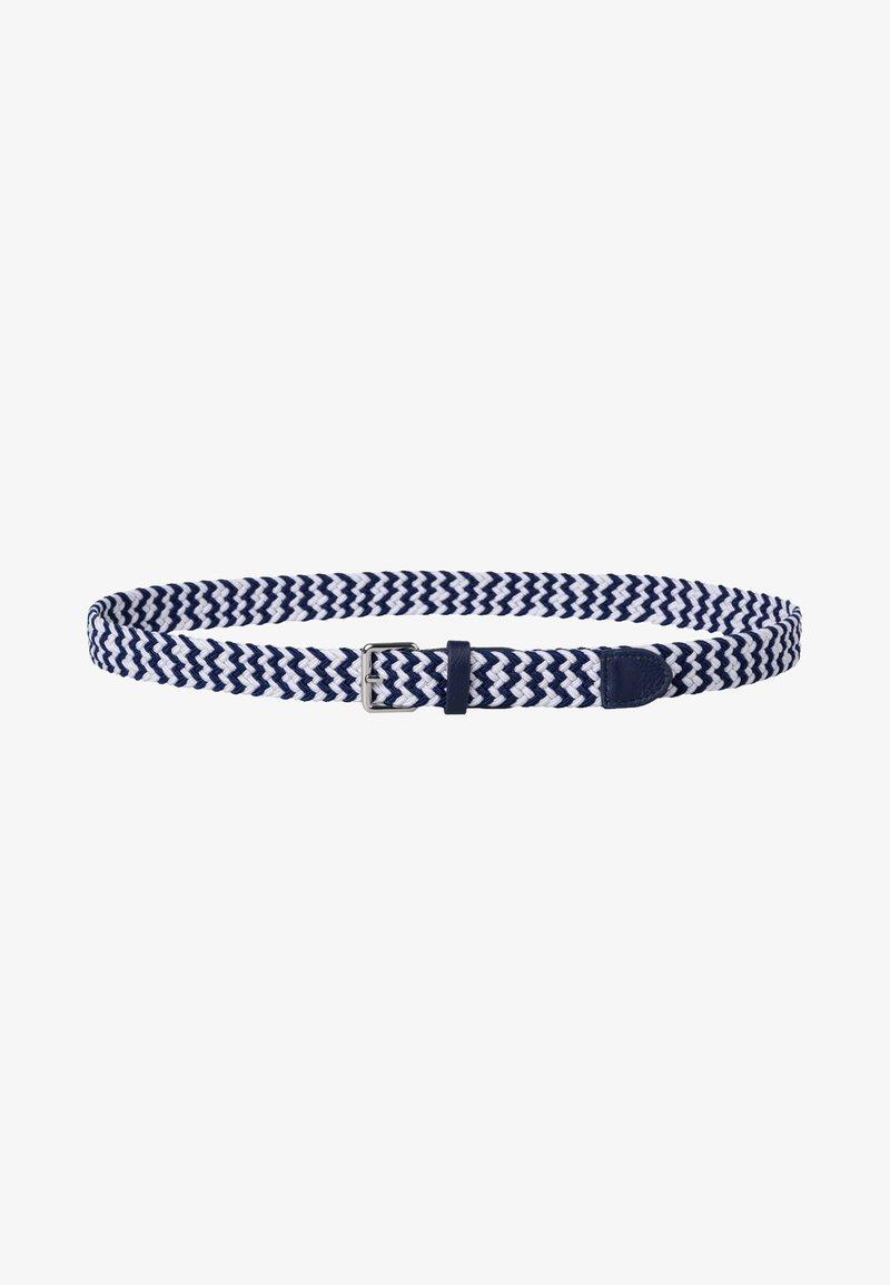 zero - Braided belt - dark blue