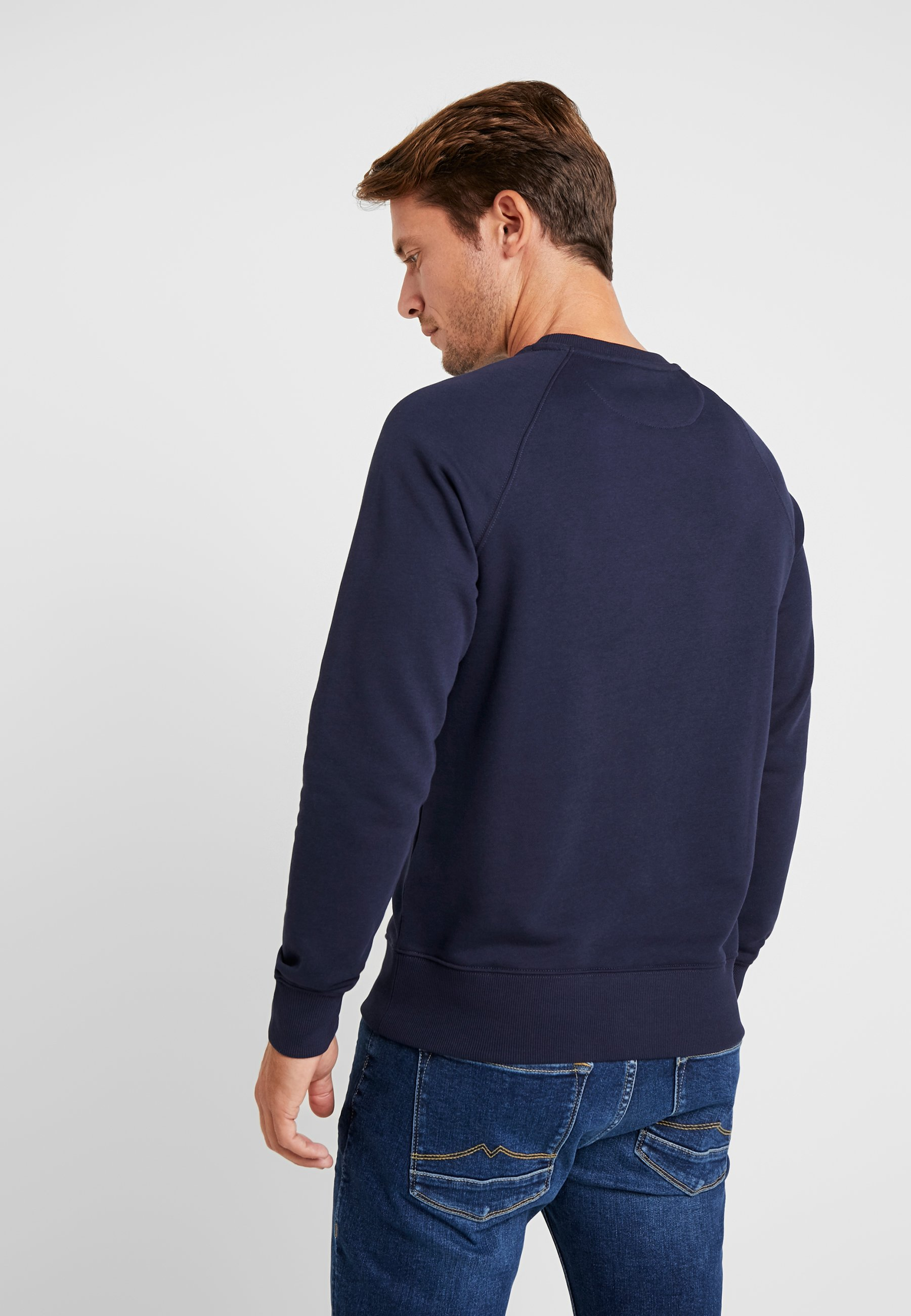 Gant Lock Up Crew Neck - Sweatshirt Evening Blue/mørkeblå