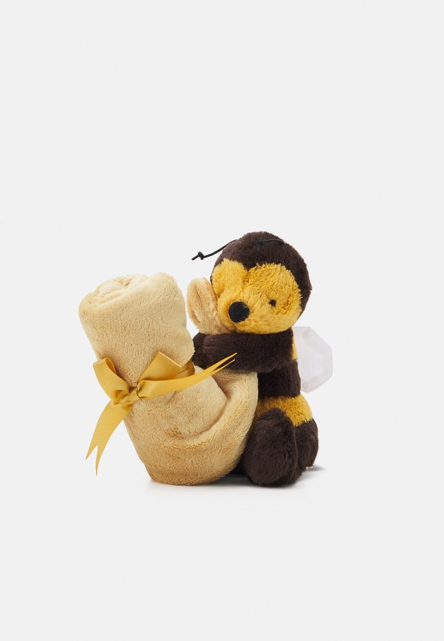 BASHFUL BEE SOOTHER - Doudou - yellow
