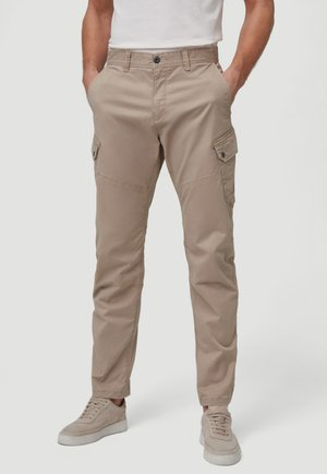 Cargo trousers - chino beige