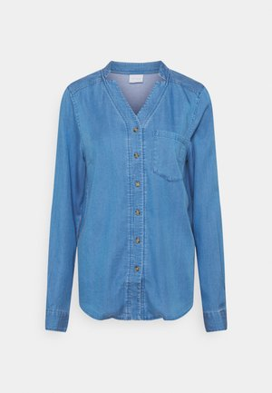 VISILLA BISTA - Skjorte - medium blue denim