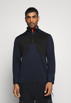 BRAYTON - Fleece jumper - dark blue