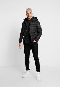 Alessandro Zavetti - AMIATA PADDED JACKET - Light jacket - black - 1