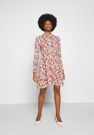 Skjortekjole - multicolor/purpl