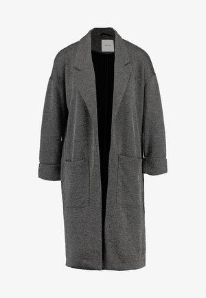 PCDORITA COATIGAN - Halflange jas - dark grey melange