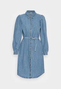 ONLROCCO LIFE LS MD  DNM DRESS - Denim dress - medium blue denim