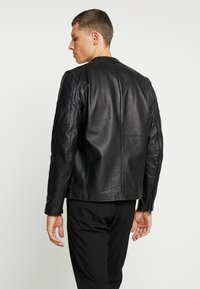 Chevignon - RIDE - Leather jacket - noir - 2