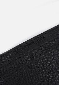 Emporio Armani - CARD HOLDER - Peněženka - black - 3