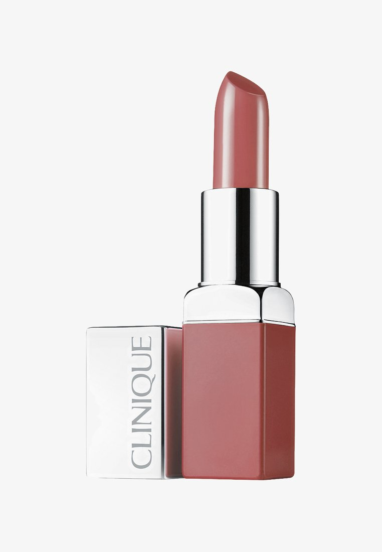 Clinique - POP LIP COLOUR & PRIMER - Lipstick - 02 bare pop