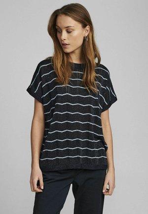 NUDARLENE DARLENE - Print T-shirt - dark sapphire