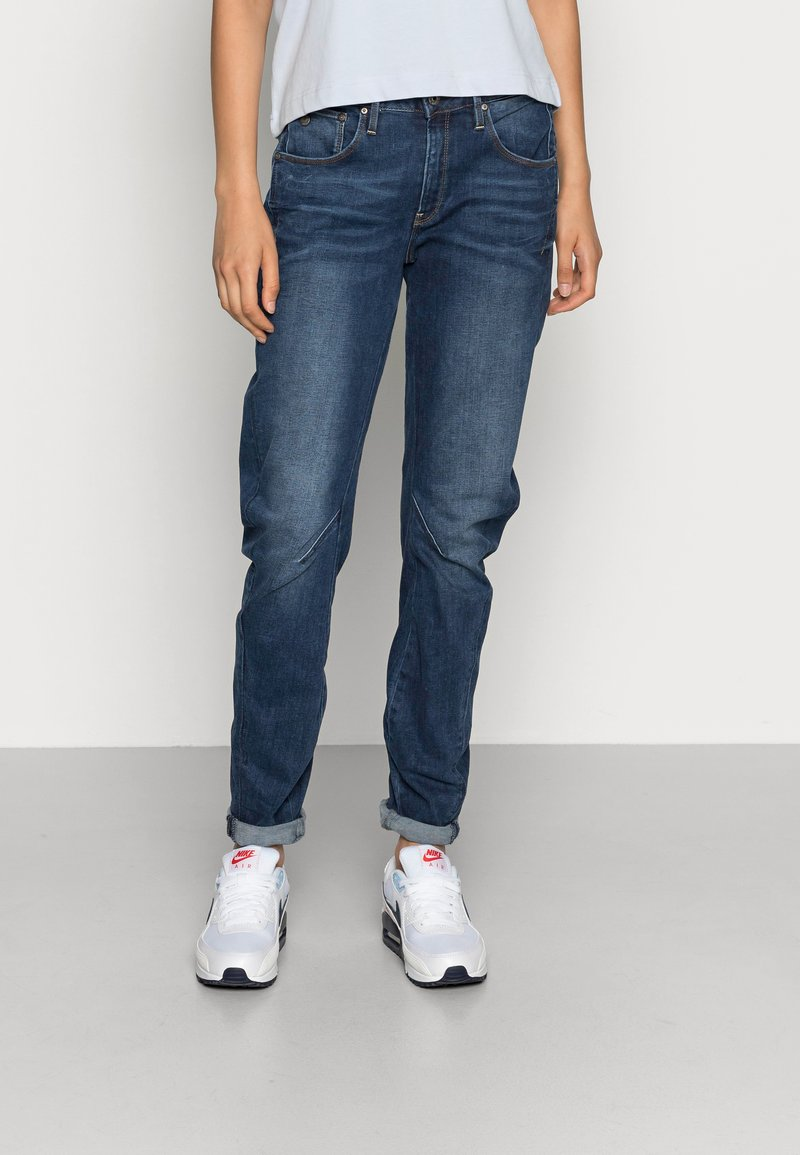 G-Star - ARC 3D LOW BOYFRIEND - Relaxed fit jeans - neutro stretch denim