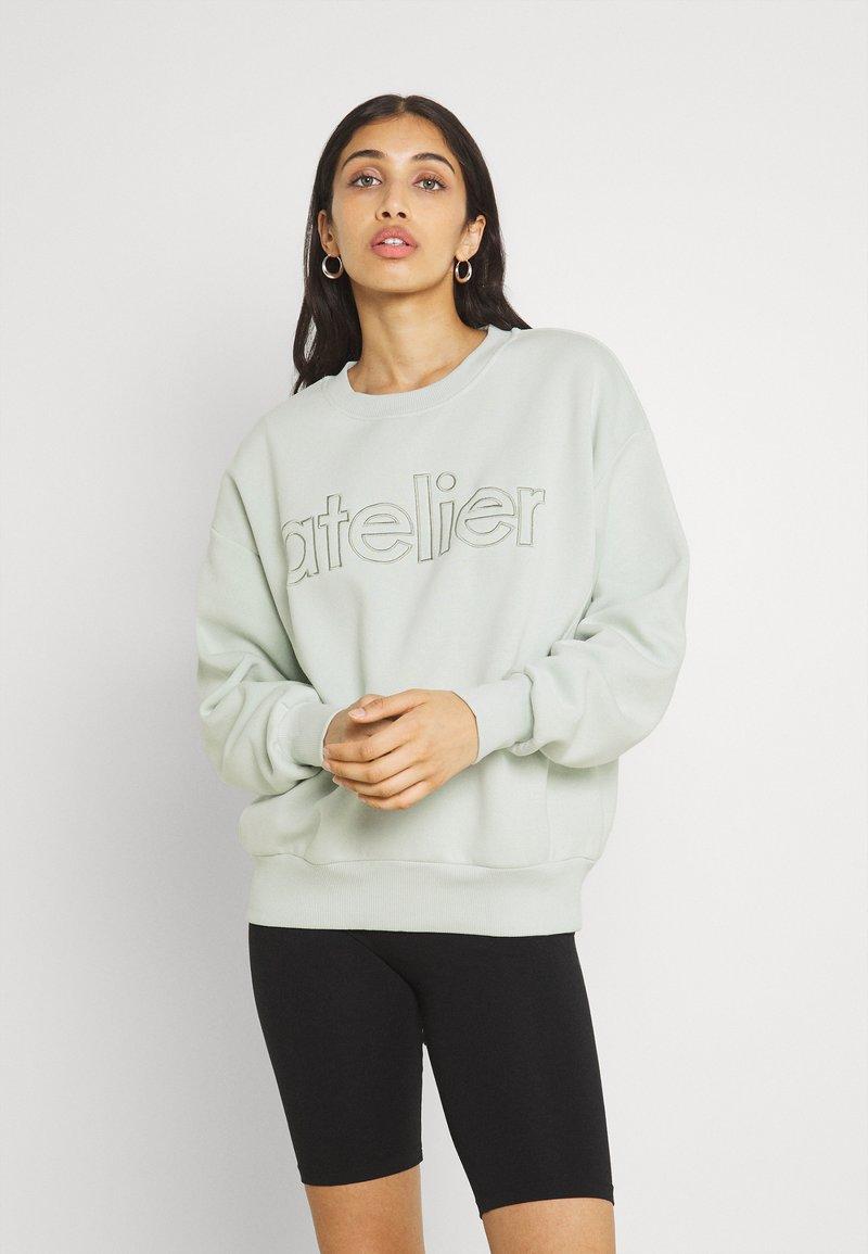 Gina Tricot - DAPHNE  - Sweatshirt - pale aqua