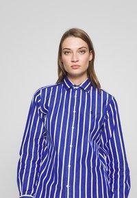 Polo Ralph Lauren - GEORGIA LONG SLEEVE SHIRT - Košile - blue/white - 3