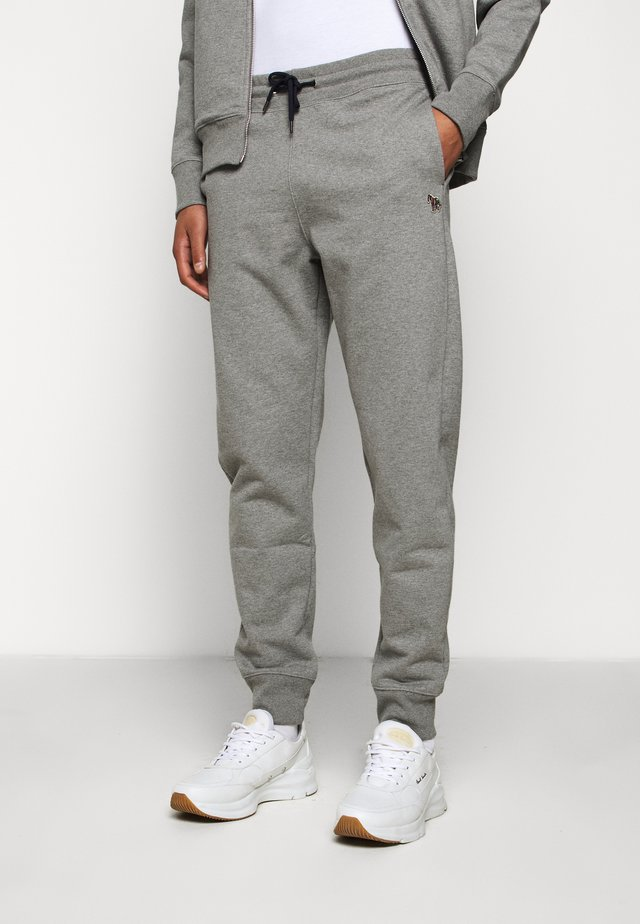 MENS JOGGER - Pantalon de survêtement - mottled grey