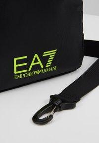 EA7 Emporio Armani - Bandolera - black / neon / yellow - 7