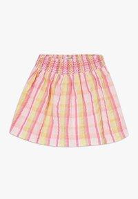 Lemon Beret - SMALL GIRLS SKIRT - Jupe trapèze - pink/yellow - 0