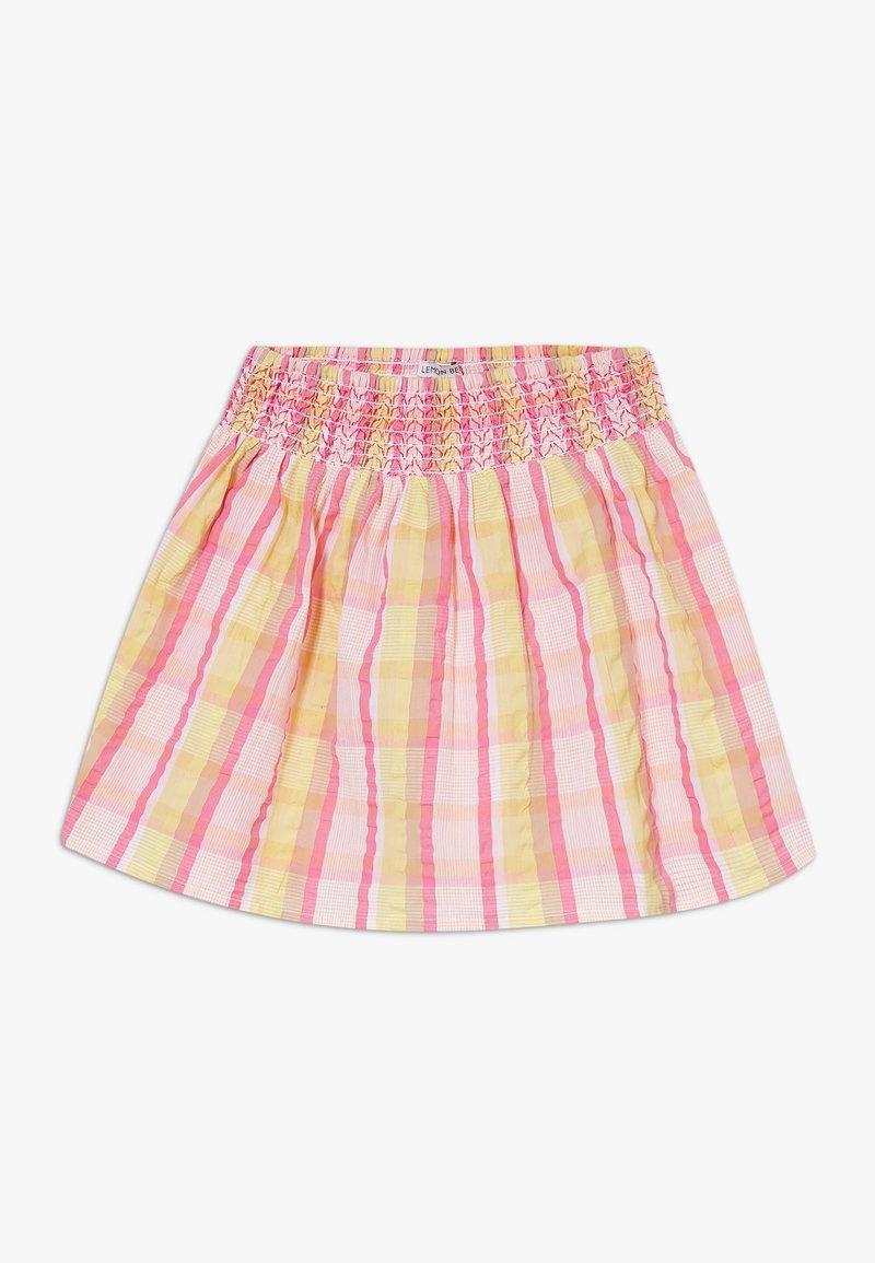 Lemon Beret - SMALL GIRLS SKIRT - Jupe trapèze - pink/yellow